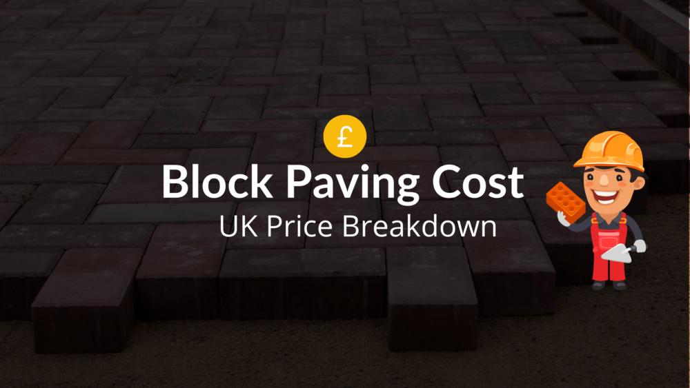 block paving cost uk