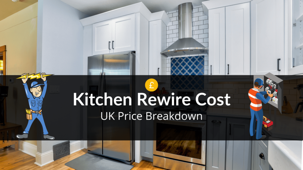 kitchen rewire cost