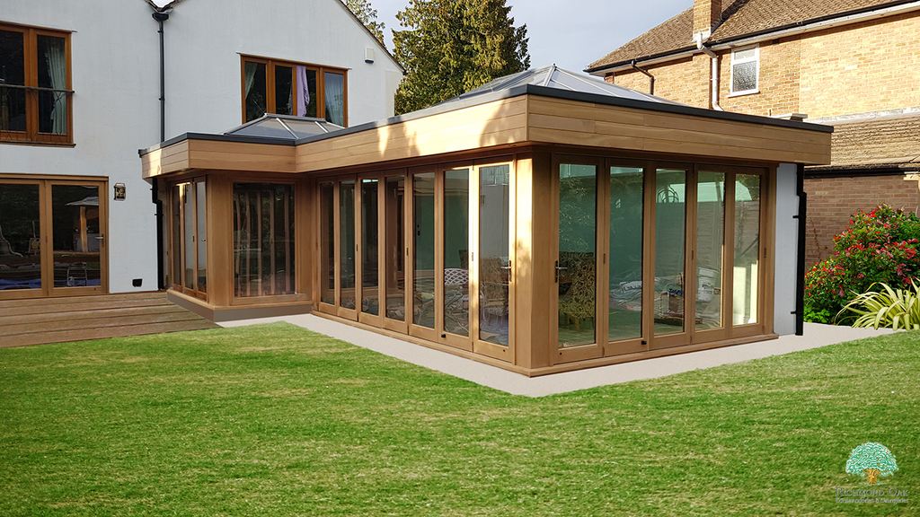 oak framed extension cost