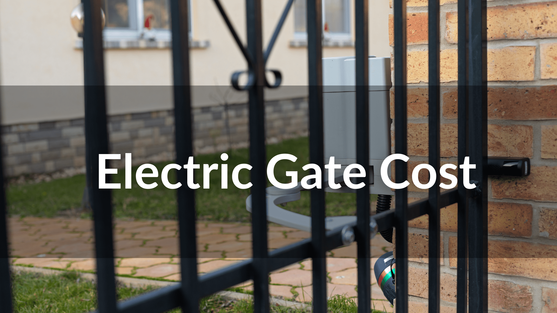 electric gate cost