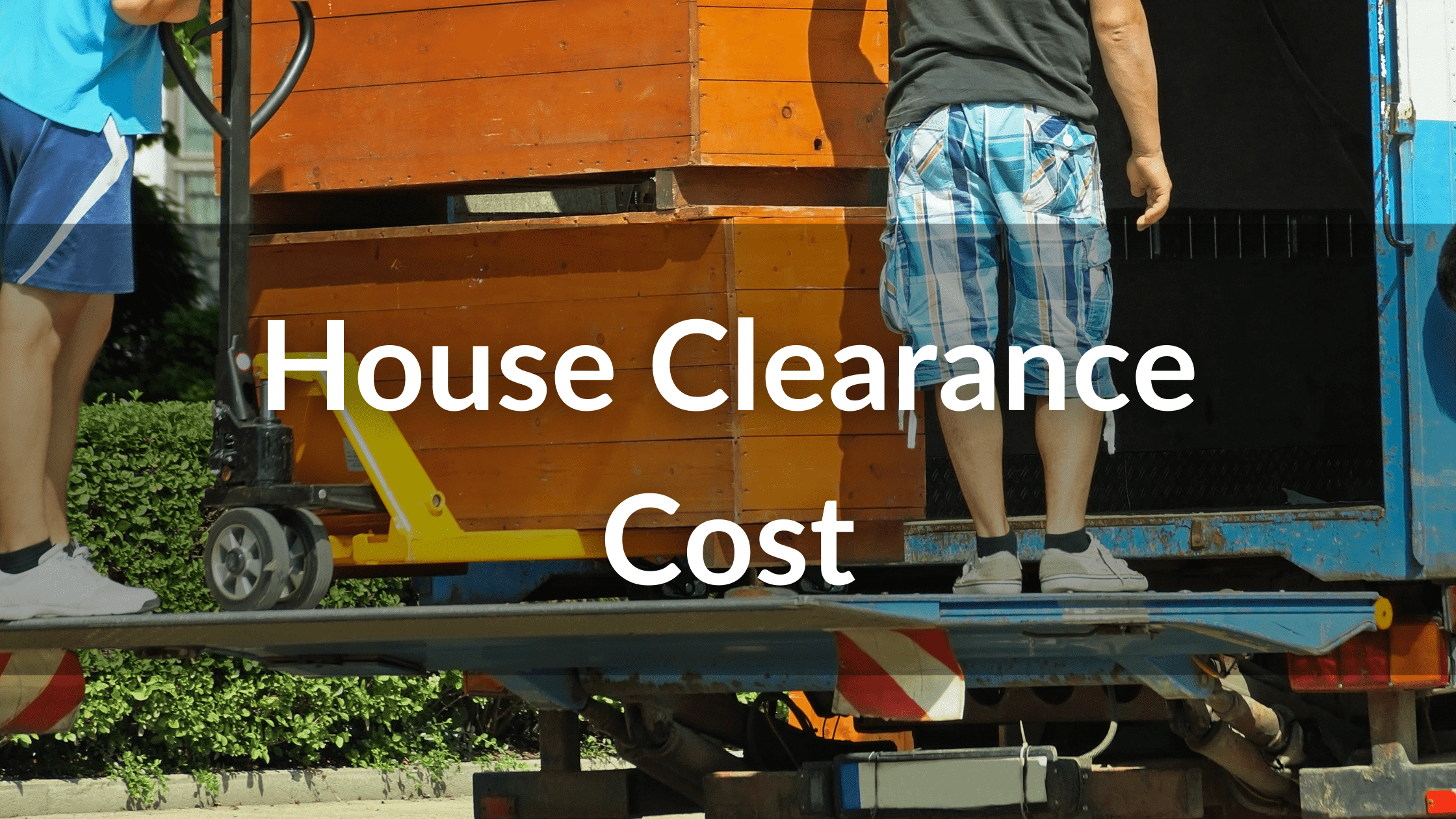 house clearance costs
