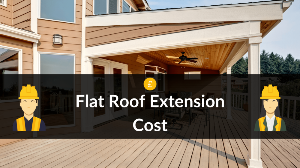 flat roof extension cost