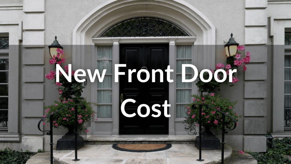 new front door cost