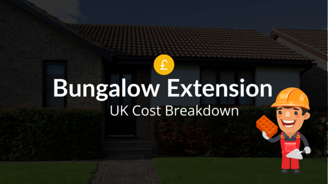 bungalow extension cost