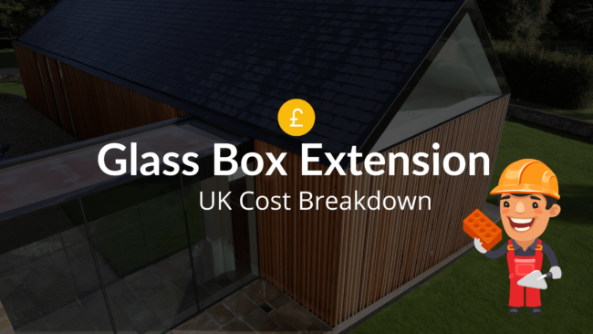 glass box extension costs
